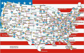 Usa Places To Visit Places To Visit In Us Usa Interstates Map Places To Visit In Us