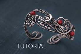 bracelet wrap wire images Sale wire wrap tutorial wire wrapped bracelet tutorial wire jpg