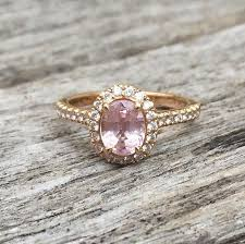 rose coloured rings images Pastel coloured engagement rings larsen jewellery png