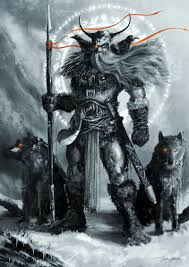 odin is the overriding presence in the norwegian myths and legends