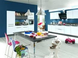 cuisine blanche et bleue peinture cuisine bleu mur cuisine bleu cuisine blanche peinture