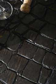 walk boldly on leather like croc skin pattern wood flooring