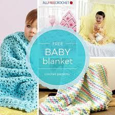 50 baby blanket patterns allfreecrochet
