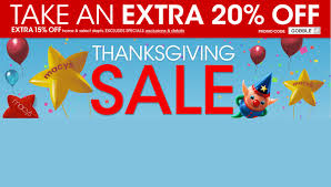 thanksgiving sale is live