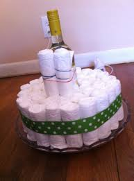 an easy diaper cake tutorial a mom apart