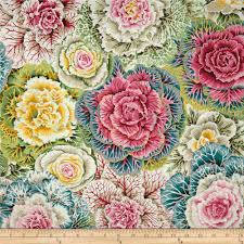 amy butler love bliss bouquet teal discount designer fabric
