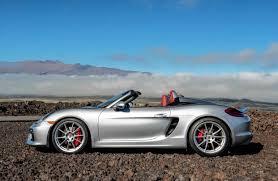 Porsche Boxster Lowered - porsche boxster spyder its vexing top aside a great ride wsj