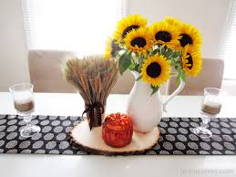 Fall Table Runners by Diy No Sew Table Runner Homey Oh My