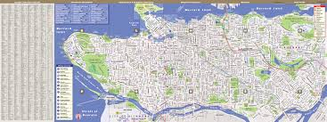 Streetwise Maps Vancouver Map By Vandam Vancouver Streetsmart Map City Street