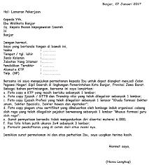 contoh surat lamaran kerja dengan cq surat lamaran pekerjaan dengan format terbaru yang wajib anda
