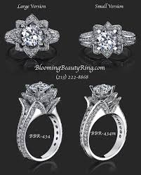 lotus flower engagement ring 32 best wedding engagement rings images on diamond