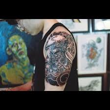 quarter sleeve tattoo ideas for men and women