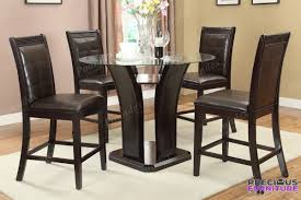 Counter Height Upholstered Chairs F1355 Upholstered Counter Height Dining Chair Set Of 2