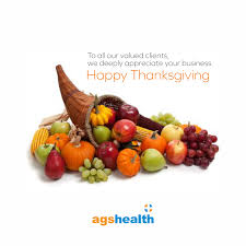 happy thanksgiving date ags health linkedin
