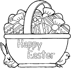 easter basket with eggs coloring page coloringmesh us page 5 of 210 the best coloring for kids