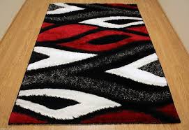 Modern Style Area Rugs New Black And Contemporary Area Rugs Black And