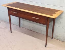 mid century modern rare lane acclaim console table this is just