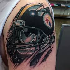 best steeler tattoos designs pictures to pin on pinterest tattooskid