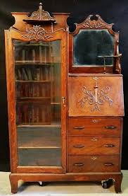 Oak Desk With Hutch Best 25 Secretary Desk With Hutch Ideas On Pinterest Antique