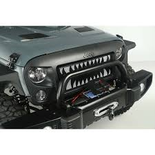 jeep maroon rugged ridge 12034 24 spartan grille inserts land shark 07 16