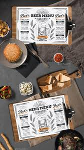 free beer list menu template tinkytyler org stock photos