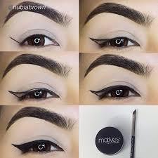 liquid eyeliner tutorial asian motives mineral gel eyeliner gel eyeliner eyeliner and brown