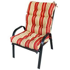 Patio Furniture Seat Cushions Furniture Beautiful High Back Patio Chair Cushions Design Ideas