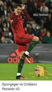 Cristiano Ronaldo Meme - into football spongegar vs cristiano ronaldo xd cristiano