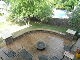 Retaining Wall Patio Design Decorative Concrete Walls Simple Of Decor Decorative Concrete 00