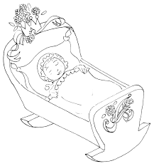 free coloring pages of sleeping baby 10593 bestofcoloring com