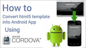html to apk converter how to convert html website into android app in 5 minutes using