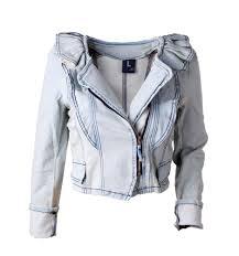 Light Jean Jacket Lovely Light Blue Flouncing Denim Jacket Long Sleeve Vintage Jeans