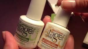 gelish vitagel nail strengthener youtube