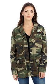womens east peacock military camo jacket true religion