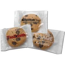 wholesale individually wrapped cookies custom individually wrapped large chocolate chip cookie goimprints