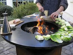 plancha cuisine cauldron pit inspirational braséro plancha yr une nouvelle