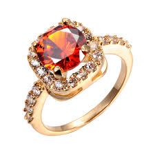 zirconia stone rings images Drole 2017 new fashion design gold color big zircon cz zirconia jpg