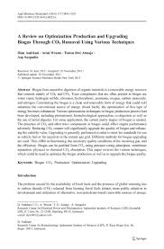 a review on optimization production and upgrading