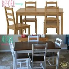 Ikea Dining Room by Ikea Jokkmokk Dining Table And Chairs Painted In Annie Sloan Chalk