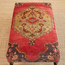 Ottoman Rug Izmir Turkish Carpet Ottoman Robert Redford S Sundance Catalog