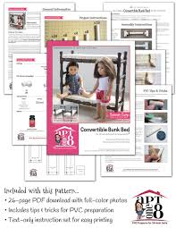 Dimensions Of Bunk Beds by Aptone8 Convertible Bunk Bed Pattern 18 Inch Dolls Such As