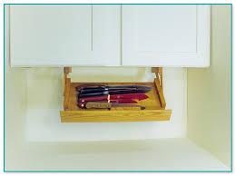 Under Cabinet Knife Holder by Kitchen Storage Under Cabinet Knife Rack