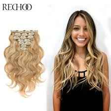 Hair Extension Clip Ins Cheap by 7 Unid 14 Clip En Pelo Humano De Remy Ondulado Clip Europea Las