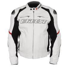 white motorcycle jacket dainese racing leather motorcycle jacket xx large size 48 white