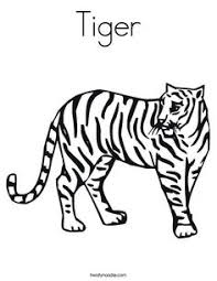 coloring pages of tigers big tiger coloring pages u003e u003e disney coloring pages images to use