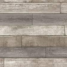 wood wallpaper wallpops nu 18 x 20 5 reclaimed wood plank natural wallpaper roll