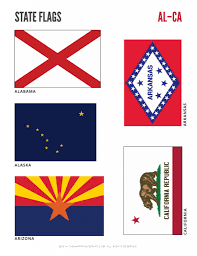 Ca State Flag State Notebooking Pages Ebook With Answer Key The Happy