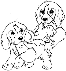 dog coloring pages to print dog and cat coloring pages puppy
