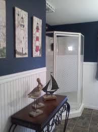 Sea Themed Bathrooms by Bathroom 79 Incredible Nautical Bathroom Acessories Blue Pattern