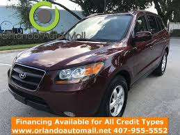 used lexus for sale orlando 1459 2007 hyundai santa fe orlando auto mall used cars for
